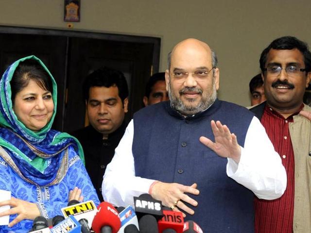 PDP-BJP govt in J-K,Mehbooba Mufti,Mufti Mhd Sayeed