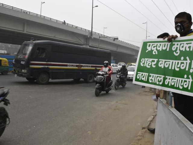 The apex court termed the petition challenging the road rationing policy a 'publicity stunt'
