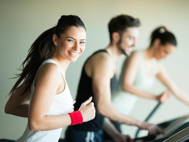 According to a new survey, most of the people who hit the gym have sex on their minds.