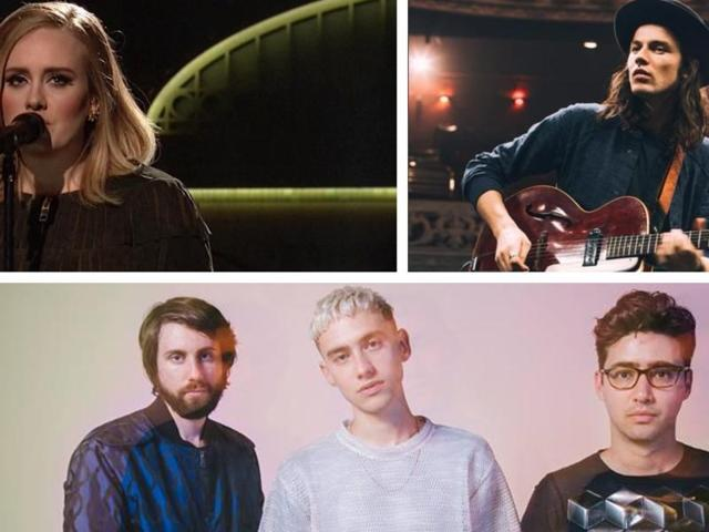 The top nominations at this year's BRITs, Britain's top music awards, have gone to Adele, James Bay and Years and Years.