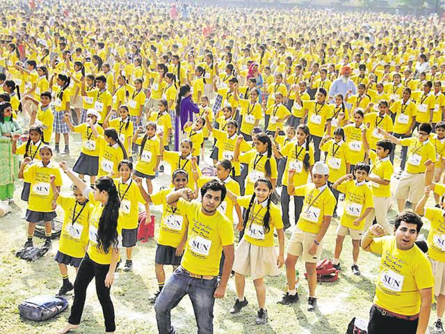 Amritsar students,Guinness record book,Khalsa College