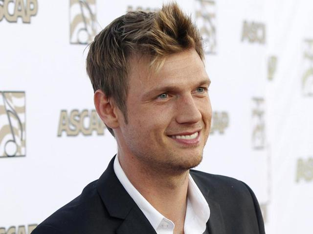Nick Carter of the Backstreet Boys poses at 30th annual ASCAP Pop Music Awards in Hollywood, in this California April 17, 2013 file photo.