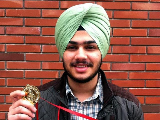 Joraver Singh bags gold medal in all India inter shooting championship.