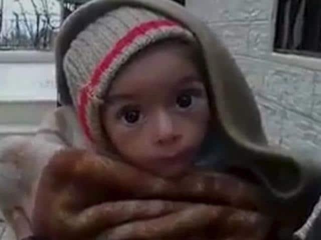 Syria's Madaya,UN children's agency,Red Crescent