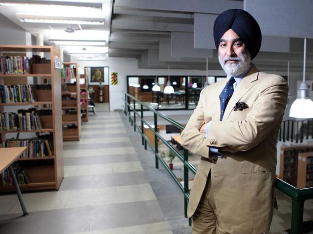 File photo of Analjit Singh, founder of the Max Group.