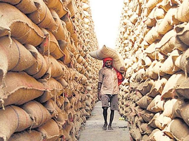 The state recorded 32.19% increase in food grain production during the period to bag the Union government's Krishi Karman Award.