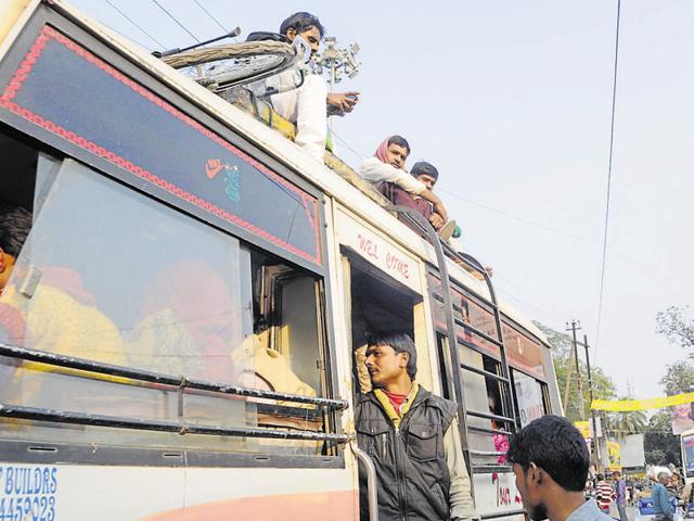 More than 10,000 diesel-run autos have been off the roads since Wednesday. Commuters continued to suffer in absence of adequate public transport.