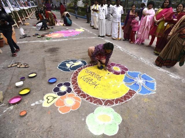 Pongal,Tamil nadu,Harvest festival
