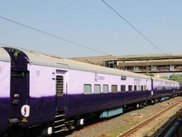 A woman and her daughter sustained serious injuries after they jumped off a moving train to catch a thief.