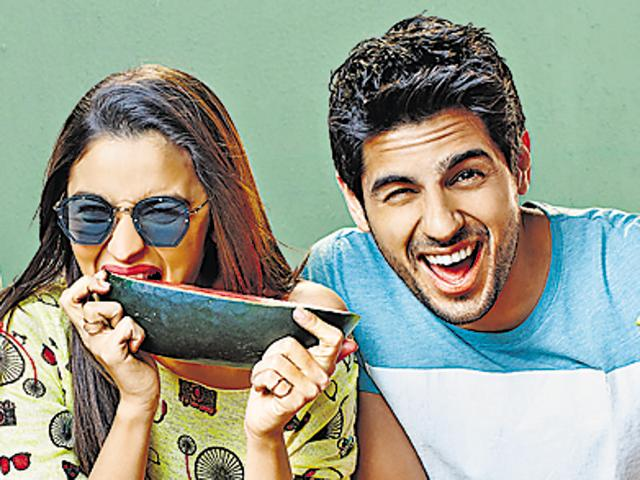 Sidharth, Alia in a still from 2012 film Student Of The Year.