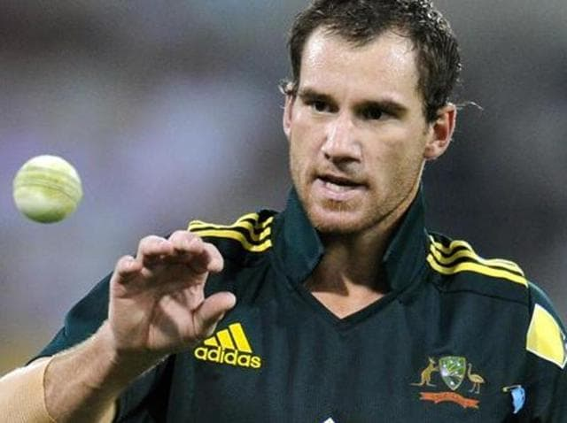 John Hastings has been retained in Australia's squad for the third one-day international against India.