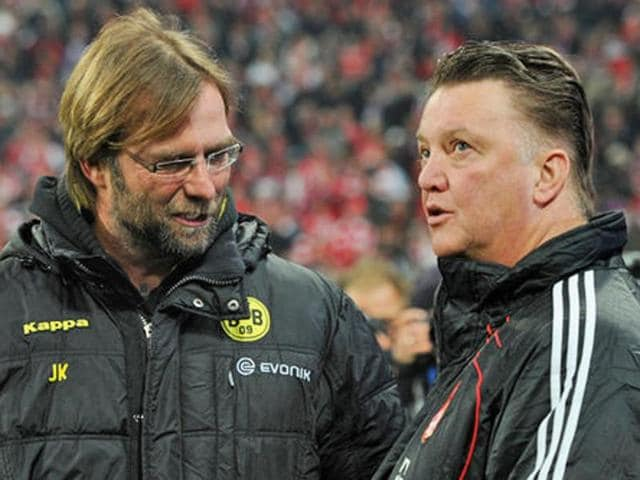 Liverpool manager Jurgen Klopp and his counterpart Louis van Gaal are grappling with similar problems ahead of their meeting at Anfield.