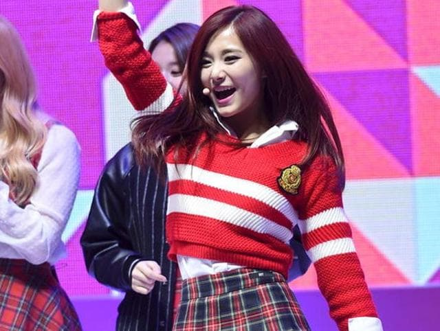 Taiwanese K-pop star,Flag row,China