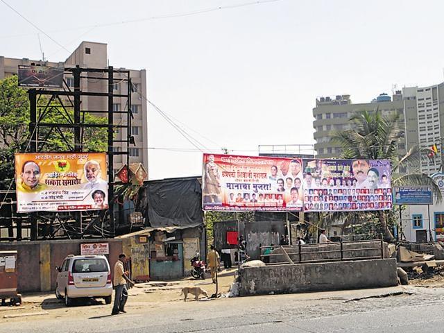 Illegal hoardings,Illegal hoardings in Mumbai,Bombay high court against illegal hoardings