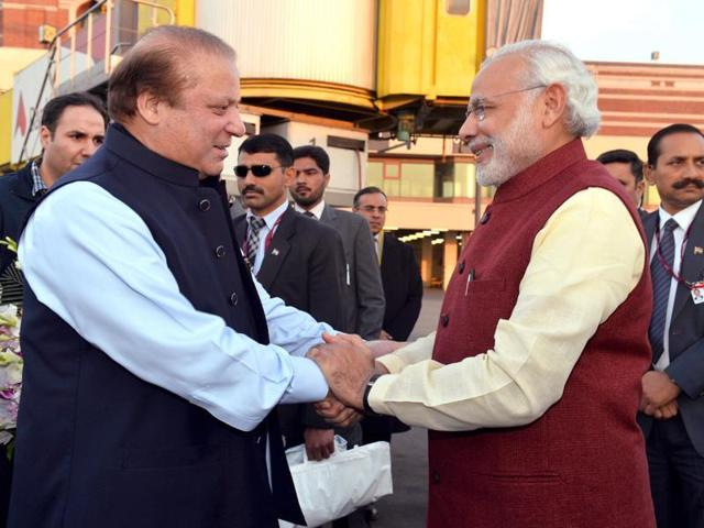 PM Narendra Modi's surprise visit to Lahore on Christmas day to personally wish Nawaz Sharif happy birthday was a bold and brave act.