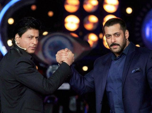 A Court on Friday accepted a plea by Hindu Mahasabha against Bollywood actors Salman Khan, Shah Rukh Khan and a private TV channel for purportedly showing the actors inside a temple wearing shoes during a reality show.
