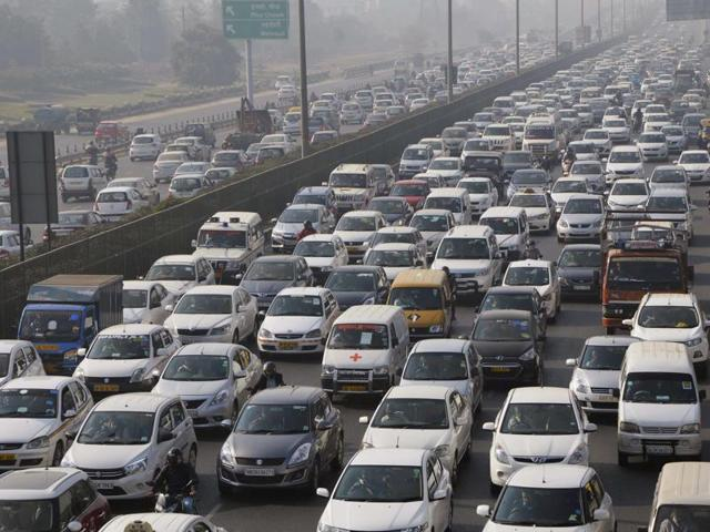 Severe traffic snarls were on Saturday witnessed in several parts of the national capital