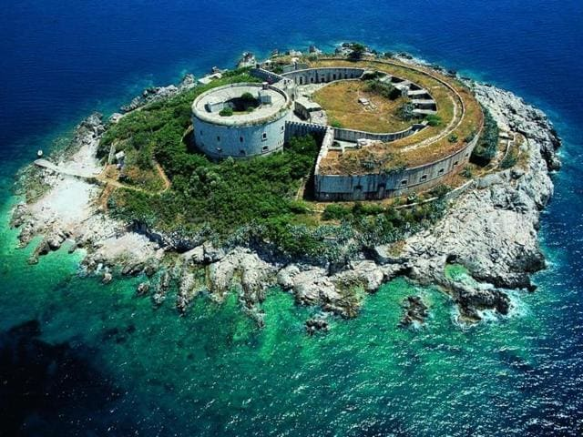 The fortress on Mamula Island was a concentration camp during World War II. It will be developed into a luxury hotel.