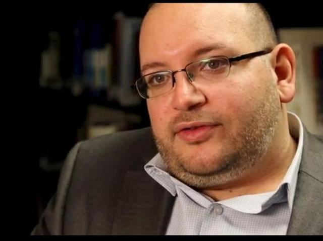 Jason Rezaian, the Washington Post's Tehran correspondent, is pictured at The Washington Post in Washington DC in this November 6, 2013 handout photo.