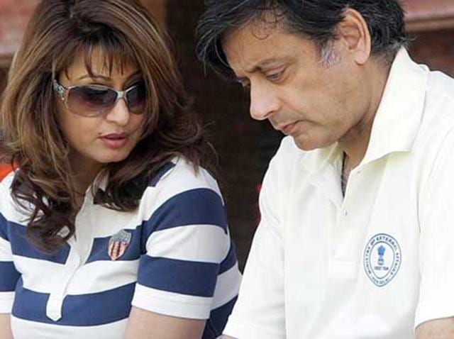 """Coming out in full support of Tharoor, the Congress also labelled the latest updates on Sunanda Pushkar's death as """"nothing more than motivated leaks by the Delhi police""""."""