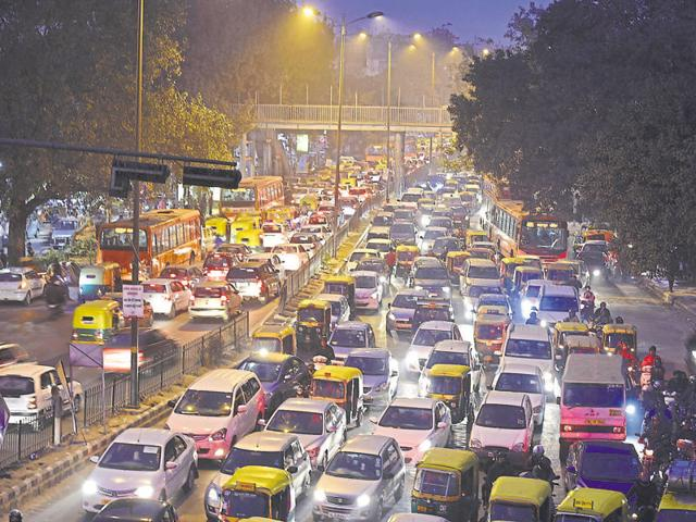 With the Delhi government's vehicle rationing scheme ending on Friday, people came out in huge numbers with their cars, causing massive traffic snarls.