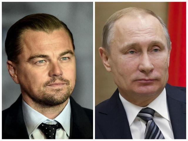 Leonardo DiCaprio,Vladimir Putin,Leonardo DiCaprio Vladimir Putin
