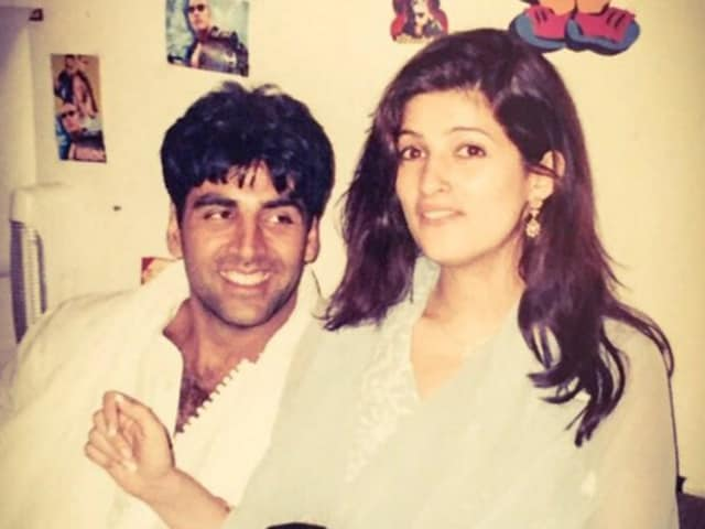 Akshay Kumar shared a throwback picture of himself with wife Twinkle on their 15th wedding anniversary on Sunday. His accompanying message would have made Mrs Funnybones very happy indeed.