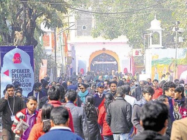 Jaiput Lit Fest,Jaipur,Cop tranferred
