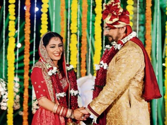 Actor Kabir Bedi married Parveen Dusanj on Friday in Mumbai.