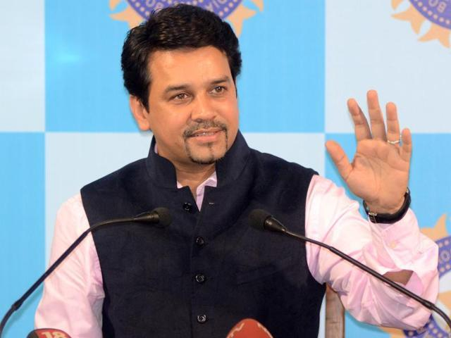 BCCI is contemplating appointing a full time national side's head coach after hosting the World Twenty20 in March-April, secretary Anurag Thakur said in New Delhi on January 18.