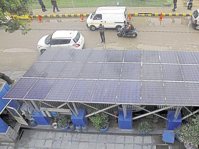 High rates of diesel and power tariff in the city are among the reasons for switching to non-conventional sources of energy.