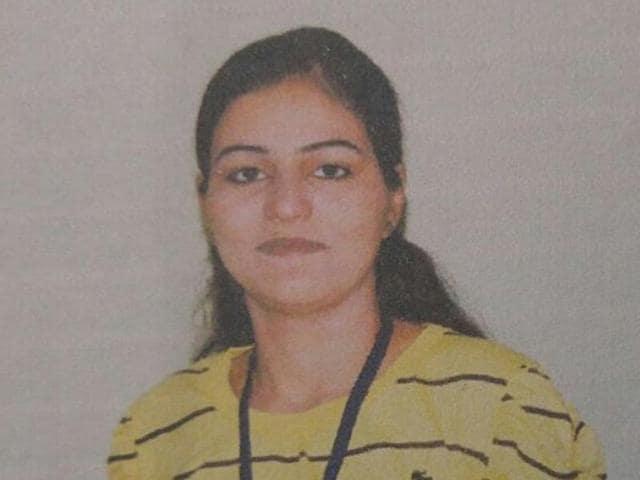 Nikita, a former news stringer who was allegedly shot dead by a Delhi Police sub-inspector, Vijender Verma.
