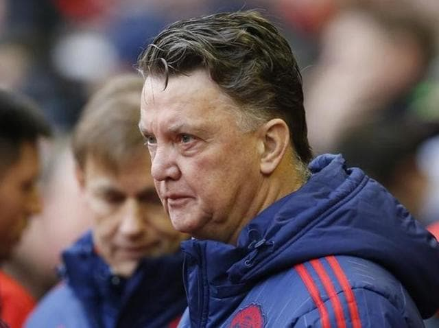 Manchester United manager Louis van Gaal after his side's victory against Liverpool.