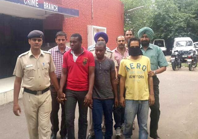 Police have arrested 10 Nigerians for drug smuggling in past 10 years.