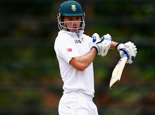 Stephen Cook of South Africa hits a cut shot during day one of the tour match between South Africa A and England at City Oval on December 20, 2015 in Pietermaritzburg, South Africa.