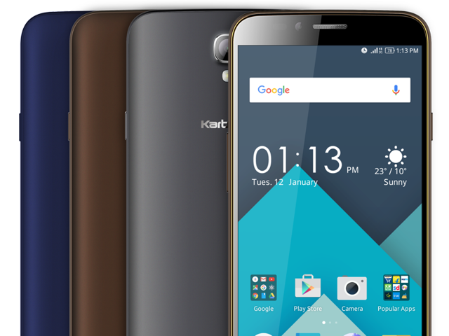 The new phone, priced at Rs.7,990, comes with a 1.3GHz quad-core processor, 2GB RAM and 16 GB internal memory