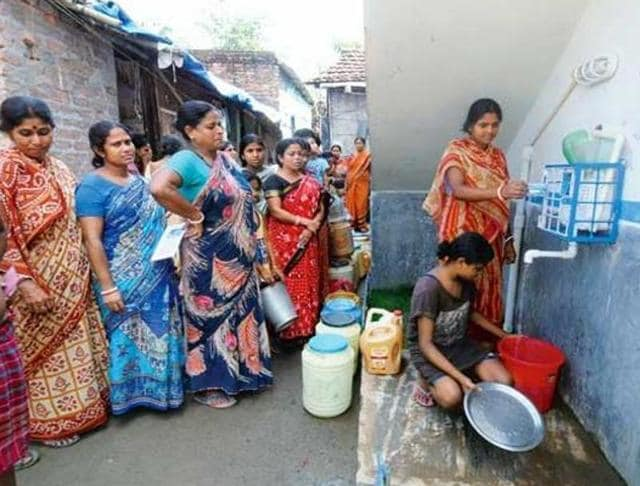 water supply,Mohali,Low-pressure