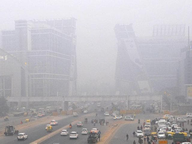 The fog started to descend upon the city around on Monday midnight, it started engulfing the city wee hours on Tuesday and became dense, reducing the visibility to near zero.