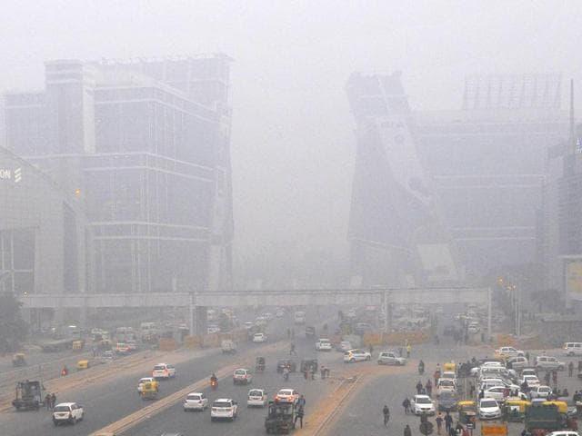 Delhi-Gurgaon,Traffic congestion,Odd-even