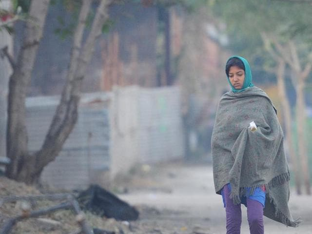 The minimum temperature in south Mumbai was slightly higher at 19.8 degrees Celsius.