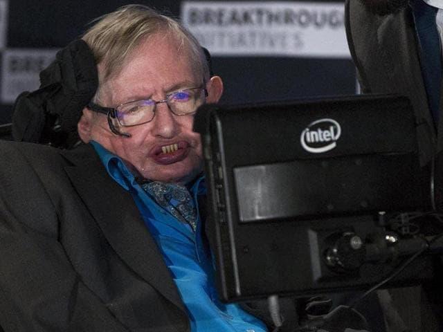 Stephen Hawking,Human survival,New technology
