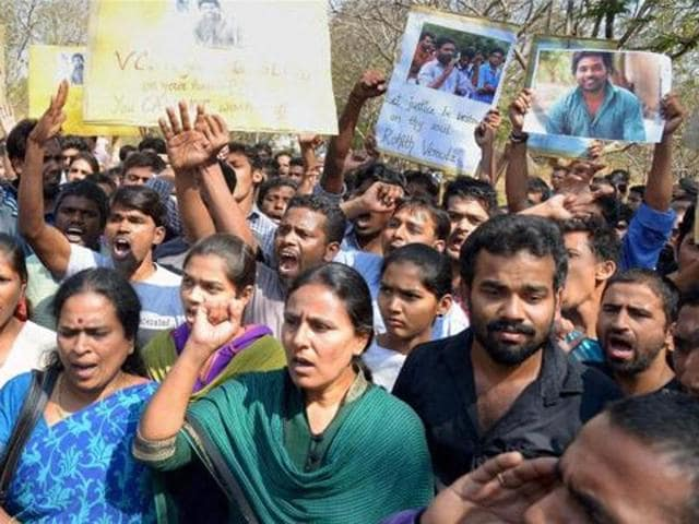 Rohith Vemula,Rohith Vemula's suicide,BJP