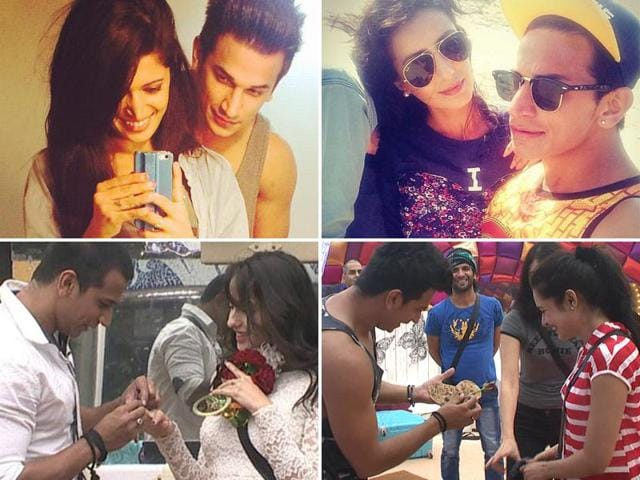 Before flirting with Yuvika Choudhary and Nora Fatehi on Bigg Boss 9, Prince Narula had a series of flings on reality shows.