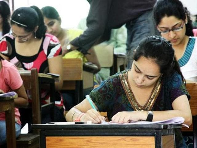 The exams are scheduled to start from March 5.(HT Photo)