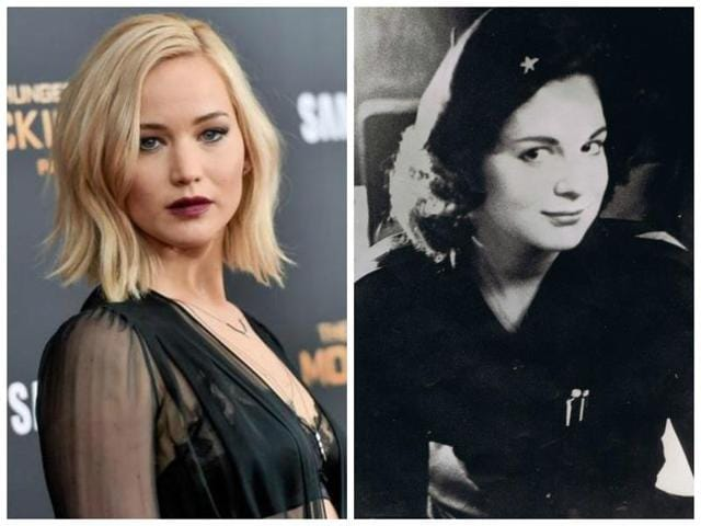 Jennifer Lawrence and Marita Lorenz: It was written in the stars.