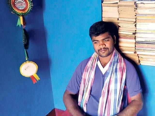 Dalit student Hucchangi Prasad