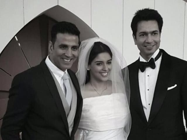 Akshay is glad that he was instrumental in Asin and Rahul Sharma's meeting and wished them a long and happy married life.