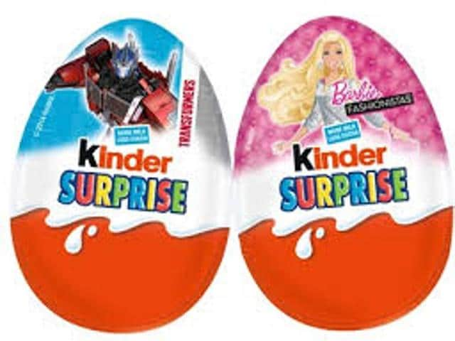 Kinder website says more than 30 billion eggs have been sold around the world.