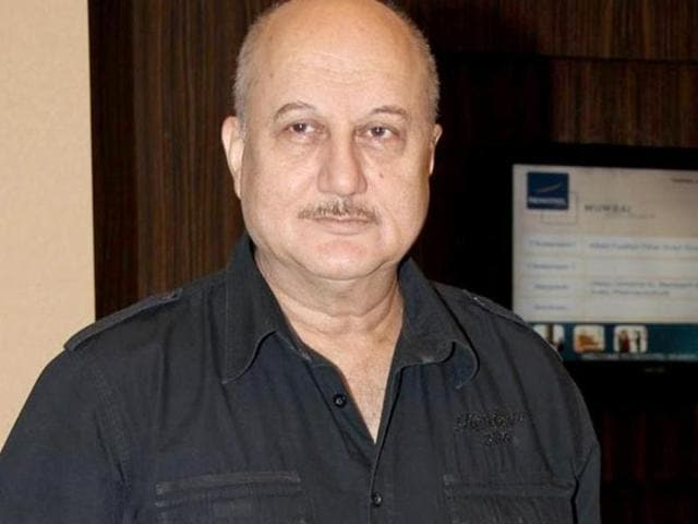 Anupam Kher said the Modi government should build nation's first Smart City in Kashmir for Kashmiri Pandits separately in a colony.(IANS Photo)
