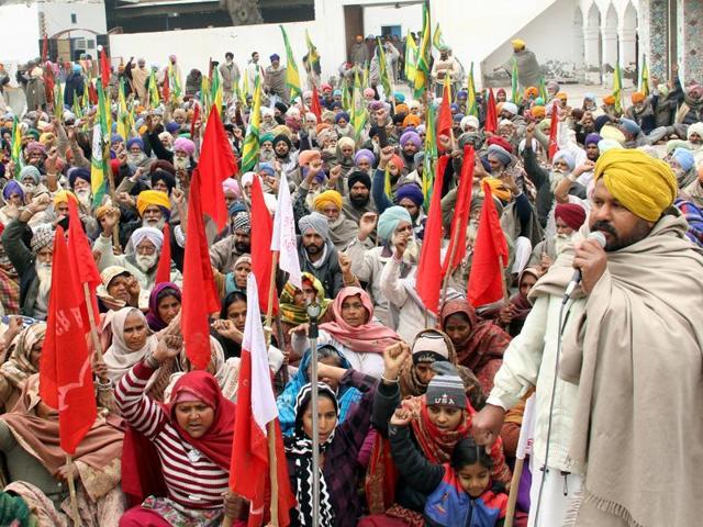 Farmers' march